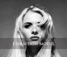 exhibition models, trade show models