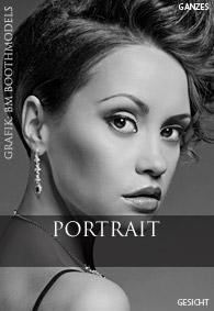 Bewerbungsbild Model und Hostess Beispiel Portrait