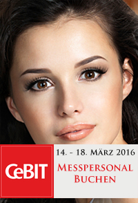 CeBIT Messehostess 2016 buchen, Hostess CeBIT 2016 buchen