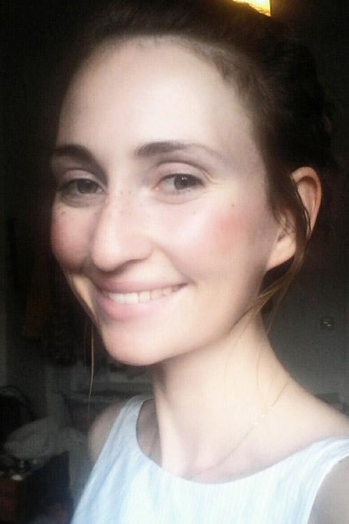 Model Franziska aus München Haarfarbe: blond (dunkel)