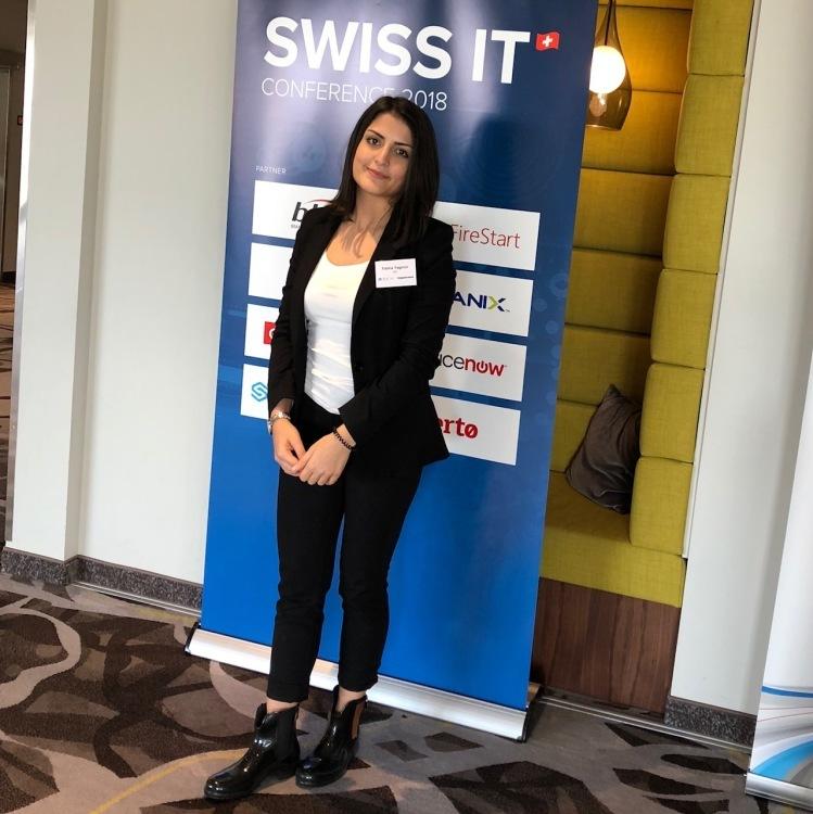 Hostess Fatma aus Fribourg  , Konfektion 36, Studium Psychologie