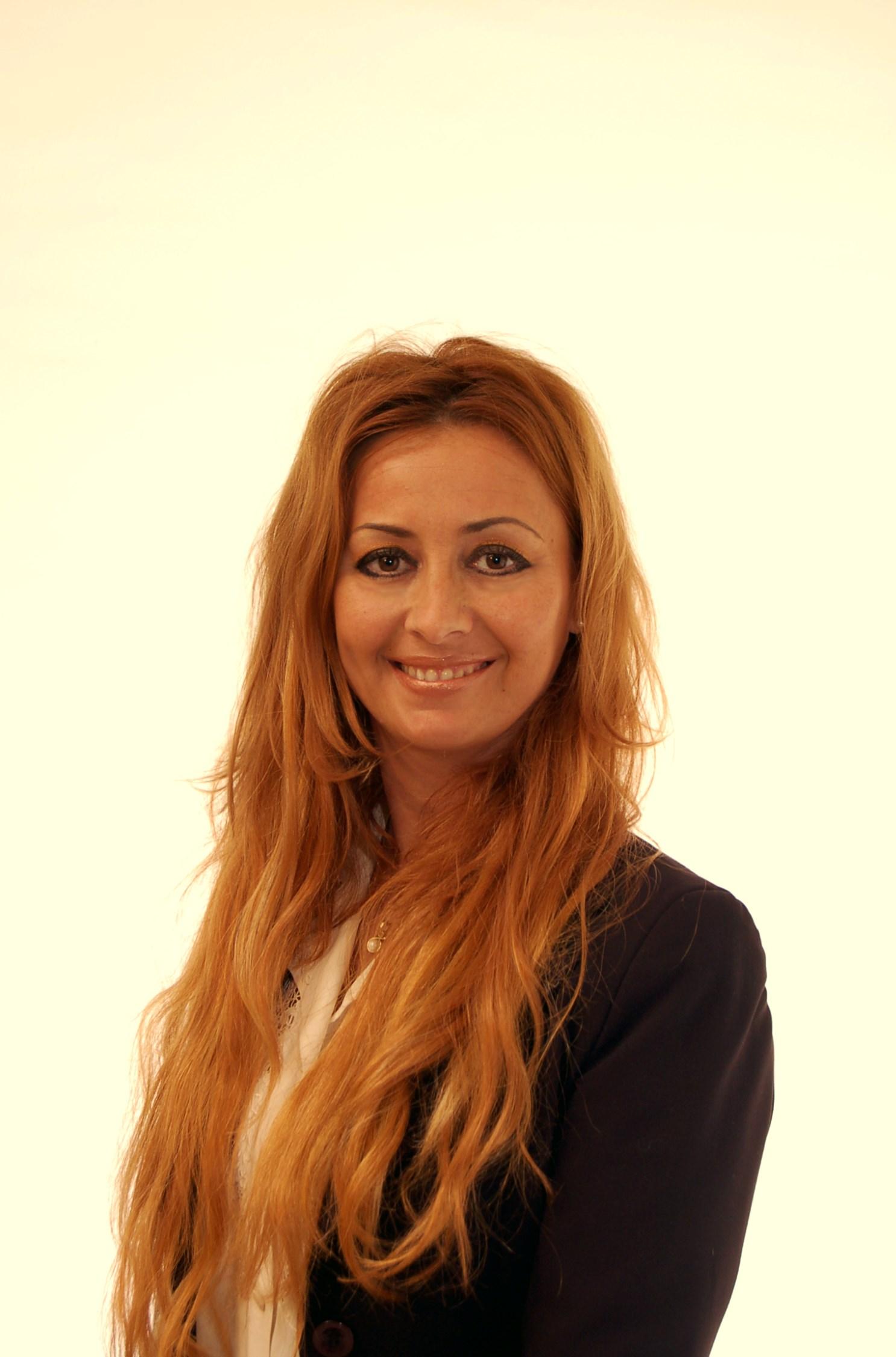 Model Giorgia aus Italia Haarfarbe: rot (blond)