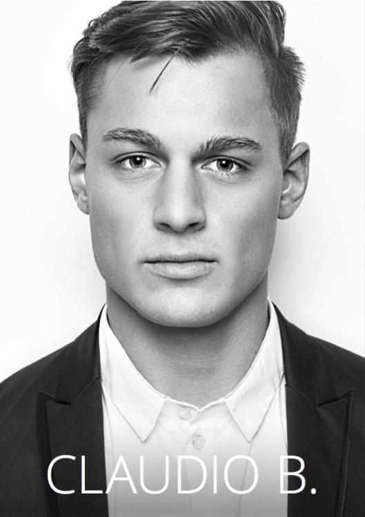Model Claudio aus München Haarfarbe: blond (dunkel)