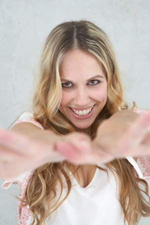 Model Caroline aus Hamburg Haarfarbe: blond (dunkel)