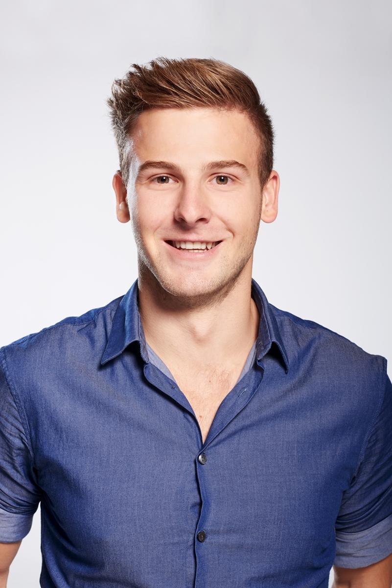 Model Marc aus Weingarten  Haarfarbe: blond (dunkel)