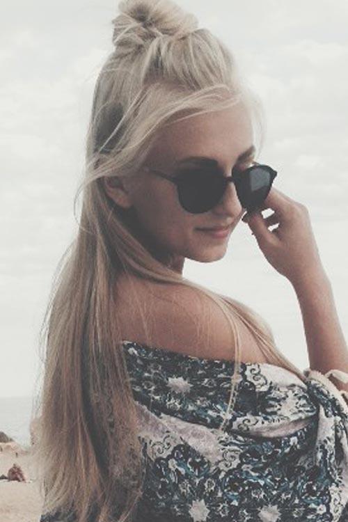 Model Paulina aus Wörrstadt Haarfarbe: blond (hell)