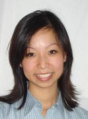 Model Thi My Phuong aus Meerbusch Haarfarbe: schwarz