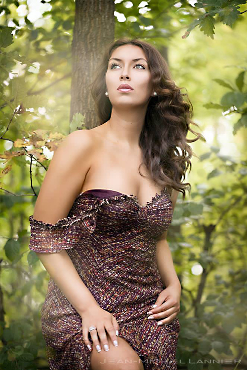 Model Carolina aus Köln Haarfarbe: braun (mittel)