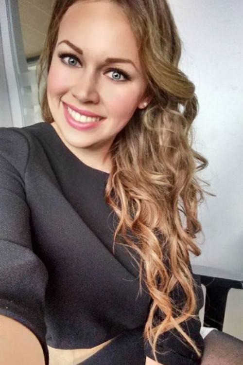 Model Amanda Fischer aus Duesseldorf Haarfarbe: blond (dunkel)