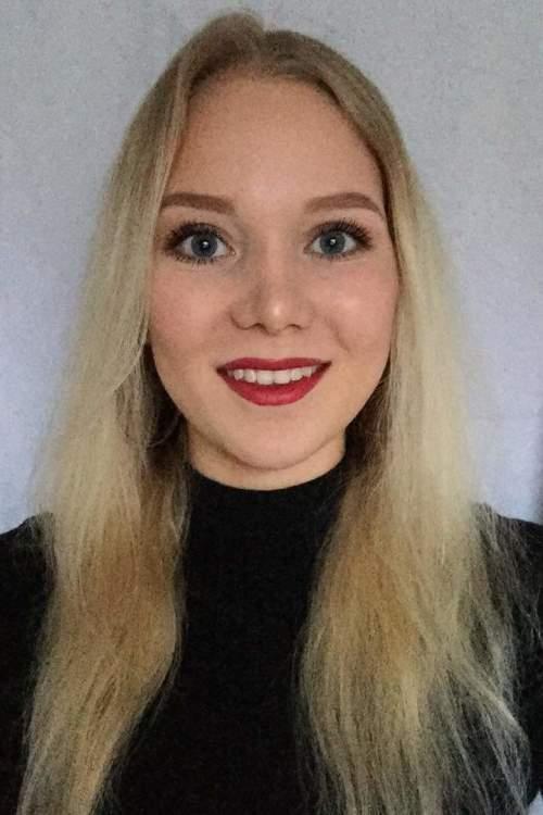 Maria  aus München  Haarfarbe: blond (mittel), Augenfarbe: blau, Größe: 170, Deutsch: 0, Englisch: , Französisch: , Spanisch: