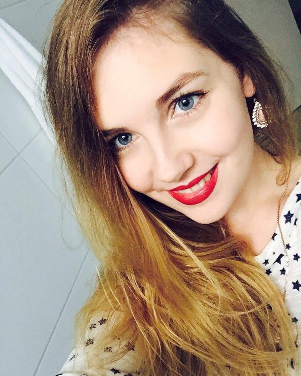 Model Maryna aus Frankfurt am Main Haarfarbe: blond (mittel)