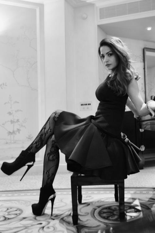 Model Samantha  aus Krefeld Haarfarbe: braun (dunkel)
